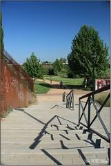 Paseo matutino (Art.Mary) Tags: park parque españa canon andalucía spain granada espagne parc parqueperiodistaticomedina