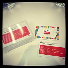 เค้าทำนามบัตรให้เลยแหะ Google Business Groups Bangkok #GBGSEA