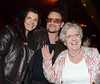 Ali Hewson, Bono, Nell McCaffe The 50th Anniversary of 'The Late Late Show' at RTE Studios Dublin, Ireland