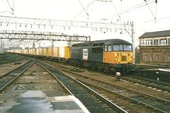 EWS Class 56 56112 Stainless Pioneer - Stockport (dwb transport photos) Tags: grid diesel railway stockport locomotive ews 56112 stainlesspioneer