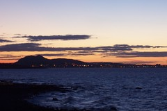 EDINBURGH SUNSET (joemor2) Tags: sunset sea sky water scotland edinburgh british firthofforth britishseascapes