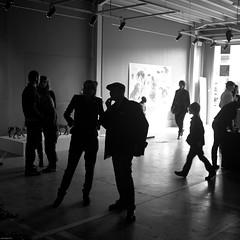 L'ESPACE 111 (jean-fabien) Tags: blackandwhite bw 6x6 monochrome square fuji noiretblanc silhouettes galerie exposition 93 montreuil contrejour carr x100 500x500 seinesaintdenis lieuculturel espace111 pictogramserideco