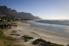 Camps Bay, Capetown (Muzby1801) Tags: bridge trees sunset red sky orange colour beach water clouds sunrise landscape photography dawn bay twilight long exposure purple dusk 10 scenic capetown stop lee nd noon filters grad camps hitech hdr foreground formatt