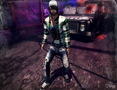 ..:: OUTFIT 14 ::.. (NyTrO StOrE) Tags: street urban woman man store mesh wear clothes hip hop styel nytro