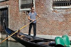 Venice gondola (ZX-6R) Tags: venice people italy europe place candid gondola vehicules scènesdevie