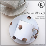 "Platinum Dot Cup & Saucer <a style=""margin-left:10px; font-size:0.8em;"" href=""http://www.flickr.com/photos/94066595@N05/13719161065/"" target=""_blank"">@flickr</a>"