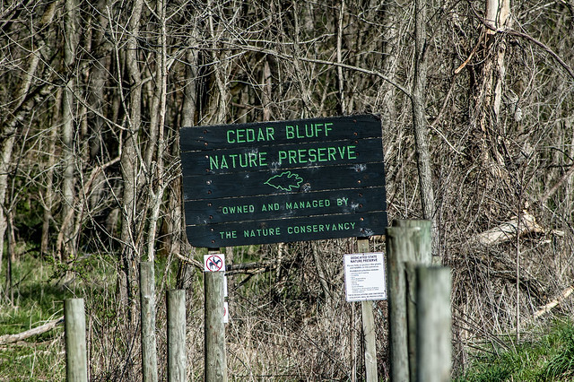 Cedar Bluffs Nature Preserve - April 19, 2014