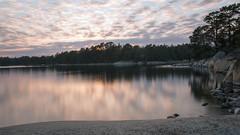 Finnhamn (Kaptens) Tags: sunset reflections landscape stockholm longshutter archipelago finnhamn canoneos70d sigma1835mmf18dchsm