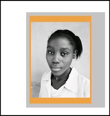 (bleekism) Tags: school woman students girl lady youth portraits mono frames education state nigeria coloured kogi