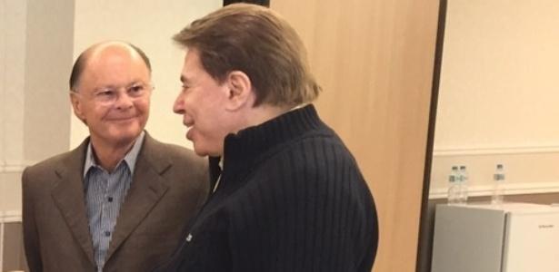 Silvio Santos brinca e diz que Record fará novela sobre Edir Macedo