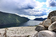 Seglet - Jsenfjorden (Orry_2000) Tags: sea mountain norway canon norge 1855mm orry rogaland hjelmeland jsenfjorden 750d seglet iglatjn
