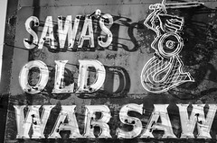 Sawa's redo (johnfromtheradio) Tags: sign neon broadview cermak sawas oldwarsaw