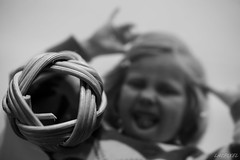 When I was a Child... (LACPIXEL) Tags: blackandwhite macro blancoynegro childhood scarf photo nikon flickr foto child noiretblanc picture scout ring recuerdo souvenir memory brownie nina foulard fx wicker enfant infancia jeannette bague enfance osier d4s macromonday nikonfrance lacpixel