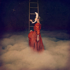 finding your place among the stars (brookeshaden) Tags: selfportrait fineartphotography conceptualphotography fairytalephotography findingyourplaceamongthestars