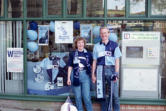 It Was 25 Years Ago Today #12 12.05.1991 (CNThings) Tags: cup shop scarf canon poster fan football display tx buckinghamshire blues wanderers supporter 1991 fans information bucks chrisneal wycombe highwycombe cupfinal wycombewanderers fatrophy chairboys cnthings