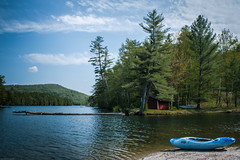 Spring in Vermont (gfbritto) Tags: blue lake mountains green boat vermont clearskies nikond5500