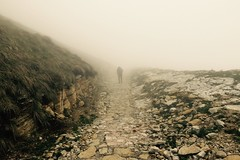 #hiking #monte #baldo #italia #italy #foggy #mist #rocky #longway #unknown #liveauthentic (unshaved) Tags: italy mist italia hiking foggy rocky unknown monte longway baldo liveauthentic
