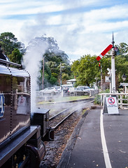 Puffing Billy Trip Melbourne VIC 02 May 2016 (59) (BaggieWeave) Tags: australia melbourne victoria steam vic steamengine steamtrain narrowgauge belgrave steamlocomotive puffingbilly locomotivecab