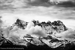 Dents du Midi (www.chriskench.photography) Tags: travel bw france clouds schweiz switzerland europe suisse fujifilm ch lakegeneva montreux vaud 18135 xt1 kenchie wwwchriskenchphotography