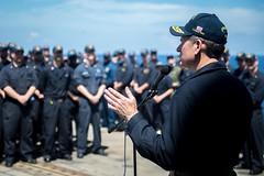 160518-N-EH218-112 (U.S. Pacific Fleet) Tags: ocean usa pacific mob pacificocean cruiser underway deployment 2016 ussmobilebay cg53 7thfleet