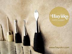 HERRAMIENTAS REPUJADO (hayuko.com) Tags: hayuko hayukocom hayukocueroypapel hayukocueropapel artesano artesana craft artesania personalizado handmade crafting cuero cueroypapel papel etsy leather repujado herramientas estuche