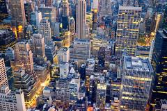 New York City Lights (` Toshio ') Tags: city newyorkcity usa newyork america buildings midtown toshio xe2