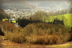 La valle de l'Ourthe et Comblain-au-Pont des Roches noires, Comblain-au-Pont, Province de Lige, Belgium (claude lina) Tags: nature landscape belgium belgique paysage comblainaupont provincedelige claudelina