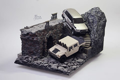 Mini-z Overland Diorama_02 (My Scale Passion) Tags: wallpaper art scale car truck poster one high model hand modeling handmade unique quality free kind collection made climbing installation passion toyota land resolution hd collectible hq custom hummer h1 crawling rc rare cruiser diorama collecting overland crawler miniz defenition myscalepassion