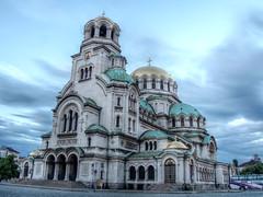 Hram-pametnik Sveti Aleksandar Nevski (jamescastle) Tags: church architecture cathedral sofia bulgaria christianity orthodox easterneurope neobyzantine