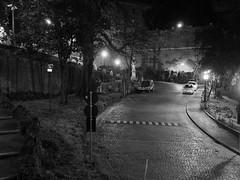 Roma_Notturno_247_1718 (Dubliner_900) Tags: bw rome roma monochrome nightshot olympus bianconero lazio notturno micro43 handshold mzuikodigital17mm118 omdem5markii