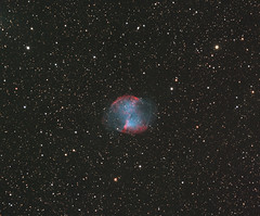 M27 (The Dumbbell Nebula) (Nige_B) Tags: astronomy messier takahashi m27 dumbbellnebula planetarynebula atik mesu astrometrydotnet:status=solved astrometrydotnet:id=nova1574968