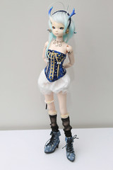 Dollzone Moon hybrid (Damasquerade) Tags: moon star doll alien corset bjd balljointdoll dollzone