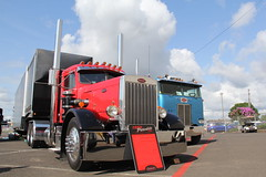 ATHS National 2016 (20) (RyanP77) Tags: aths truck show salem oregon peterbilt kw kenworth logger cabover pete freightliner marmon dump semi