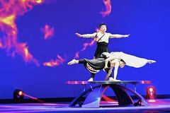 Chine du Centre-Est 2016 - Shanghai (philippebeenne) Tags: china shanghai chine spectacle gymnastique acrobatie portmanritzcarlton shanghaicentretheatre