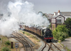 46115 (Geoff Griffiths Doncaster) Tags: wales coast north cathedrals express rhyl cambrian 46115