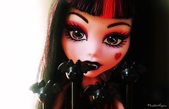 Love bats  ( MarildaHungria ) Tags: laura monster high doll heart vampire bat mh mattel draculaura