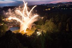 Feuerwerk ber Schloss Hellbrunn (Simon Neutert) Tags: salzburg tourism june juni austria sterreich fireworks sightseeing poi fest schloss feuerwerk feier hellbrunn 2016 wasserspiele festlichkeit