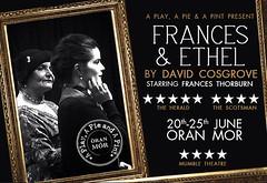 Frances & Ethel Poster
