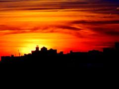 New York Sunset (dimaruss34) Tags: sunset summer newyork brooklyn image manhattanbeach dmitriyfomenko
