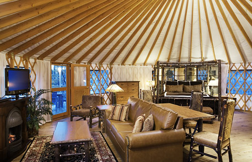 Yurt Interior - Shenandoah Crossing™