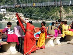 Rishikesh, Uttarakhand, India (east med wanderer) Tags: india festival river holy visitors hinduism ganga ganges pilgrims rishikesh swargashram uttarakhand theindiatree worldtrekker