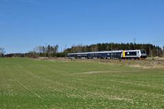 185 707-8 Blå Tåget, Sköldinge (S) (RobbyH83) Tags: blåtåget railpool skandinaviskajernbanor