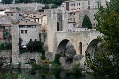 Besalú Bridge and Town