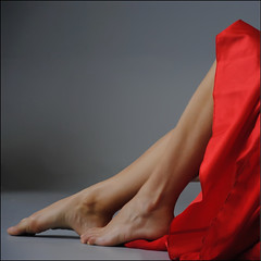 red sensuality (s@brina) Tags: red rome model legs silk 2012 photoshow saariysqualitypictures bestcapturesaoi elitegalleryaoi