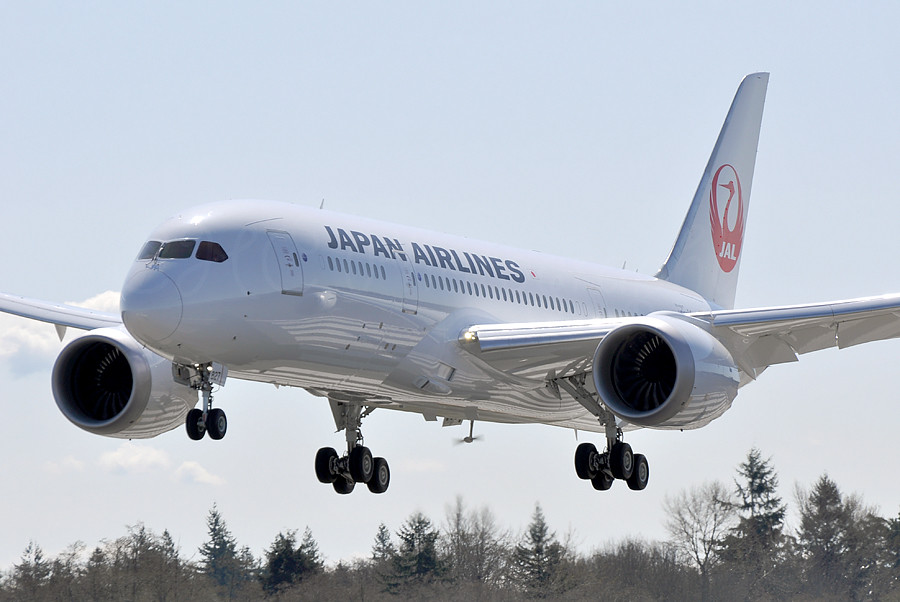 JAPAN AIRLINES B787-846 Dreamlner JA827J by C.C.H.Calvin, on Flickr
