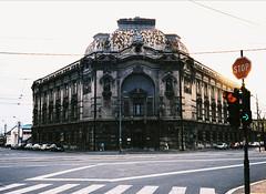 Former insurance company building (spefretus) Tags: color architecture raw serbia belgrade m5 beograd srbija
