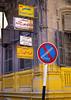 Roadsign In Aleppo Street, Syria (Eric Lafforgue) Tags: color colour vertical syria aleppo siria levant syrien syrie 218 sirja traveldestinations suriye シリア سورية syrië סוריה síria szíria սիրիա westernasia 시리아 敘利亞 συρία suriah sirija сирија cиpия סיריע soría