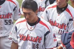 DSC04399 (shi.k) Tags: 横浜スタジアム 東京ヤクルトスワローズ 120608 イースタンリーグ 麻生知史