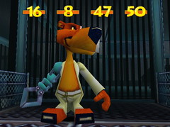 555743-metal_arm_dude_2 (furballs_dc) Tags: pc screen beta prototype dreamcast alpha viggo brownbear secretisland furballs robotarm furfighters odebahbear