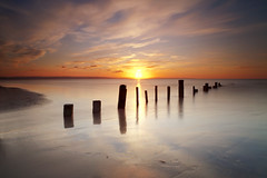 Berrow Sands (peterspencer49) Tags: sunset seascape southwest beach reflections somerset sunburst backlit seaview westcountry southwestcoast brean southwestcoastalpath berrow stunningview seascene somersetcoast berrowsands 5dmkll peterspencer stunningseascape beachseaview peterspencer49